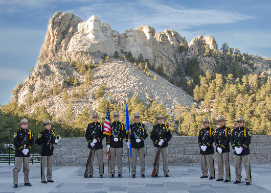 Sheriff's Office Reserves at Mount Rushmore