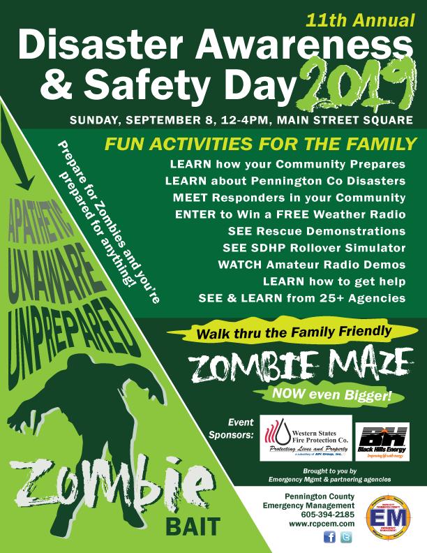 Disaster Awareness Day - Pennington County, South Dakota